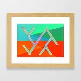 Way of information ... Framed Art Print