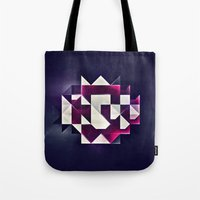 rwby Tote Bags featuring rwby pyndynt by Spires