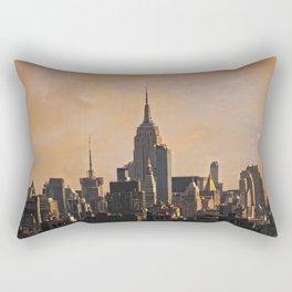 Manhattan morning Rectangular Pillow