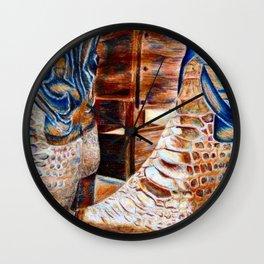 Rodeo Still Life Wall Clock