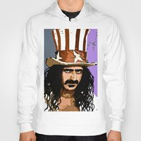 woodstock Hoodies featuring Zappa by Saundra Myles