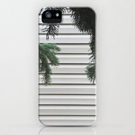 Hanging Pines iPhone Case