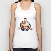 zlatan Tank Tops featuring Zlatan Ibrahimovic by Just Agung