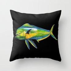 Mahi Mahi Throw Pillow