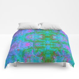 Sedated Abstraction II (Ultraviolet) Comforters