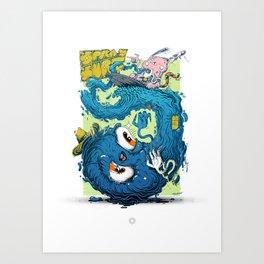 SPRAYSURF Art Print