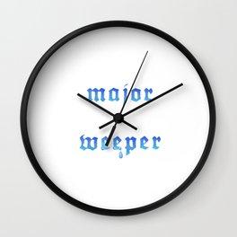 Major Weeper Wall Clock