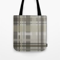 plaid Tote Bags featuring Plaid by GoAti