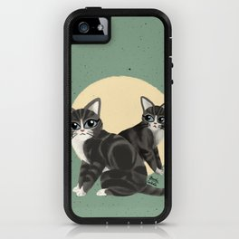 Lovely kitties iPhone Case