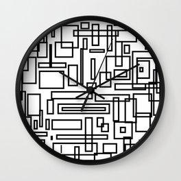 Squarez Wall Clock