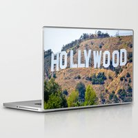 hollywood Laptop & iPad Skins featuring Hollywood by DanielleC