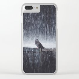 Hashtag Mondays Clear iPhone Case