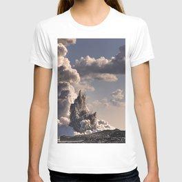 Kilauea Volcano at Kalapana 3b T-shirt