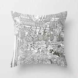 Mercado Throw Pillow