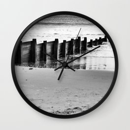 North sea views Wall Clock
