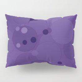 Gentian Violet Bubble Dot Color Accent Pillow Sham