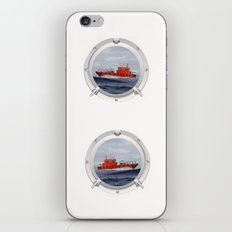 Port Hole View iPhone & iPod Skin