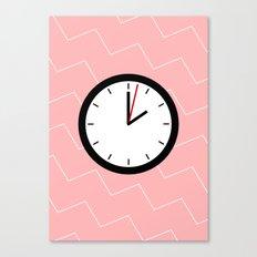 #33 Clock Canvas Print