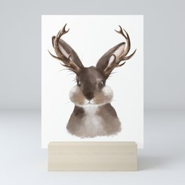 Wild Jackalope Mini Art Print