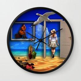 Holiday's dream Wall Clock