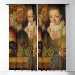 """Antoine Watteau """"Actors of the Comédie-Française"""" Blackout Curtain"""