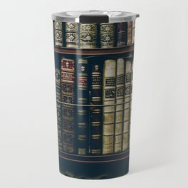 The Bookshelf (Color) Travel Mug