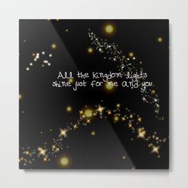 kingdom lights Metal Print
