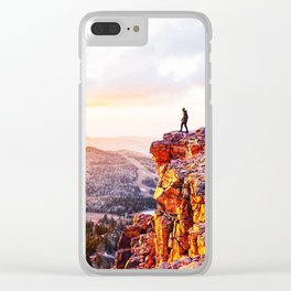 The View, Brian Head UT Clear iPhone Case