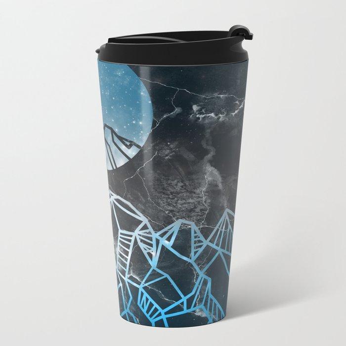 galaxy landscape 2 Metal Travel Mug