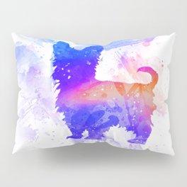 Yorkshire Terrier Art  Pillow Sham