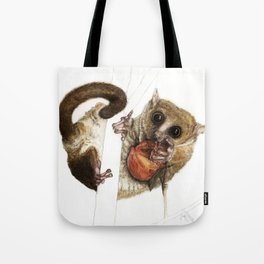 Munching Mouse Lemur Tote Bag