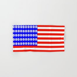 American Flag Hand & Bath Towel