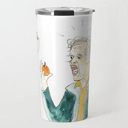 Gary Busey Eats a Peach Travel Mug