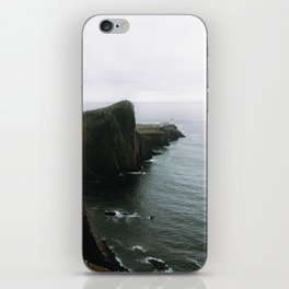 Neist Point Lighthouse II - Landscape Photography iPhone Skin