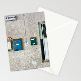 Tel Avivian Mail Boxes - Urban Photography Stationery Cards