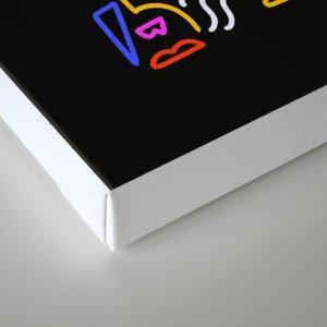 Rock the box Canvas Print