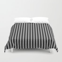 Abstract Tribal Zebra Pattern Duvet Cover