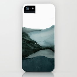 Landscape watercolor  iPhone Case