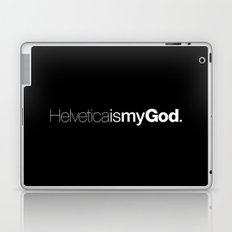 HelveticaismyGod #02 Laptop & iPad Skin