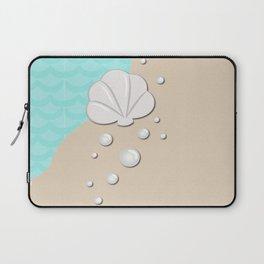 Seashell by the Seashore Laptop Sleeve
