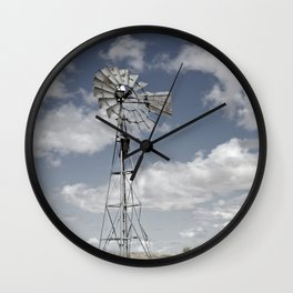 VINTAGE WINDMILL Wall Clock