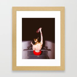 Hotel Party Framed Art Print