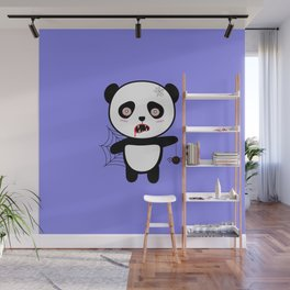 Happy Halloween Horror Panda T-Shirt Daopu Wall Mural