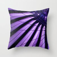 surrealism Throw Pillows featuring City Surrealism by Notions