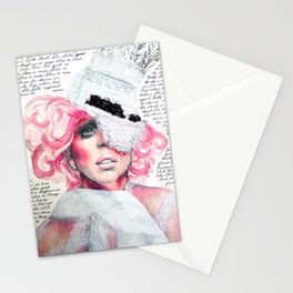 A Paper Mask Stationery Cards