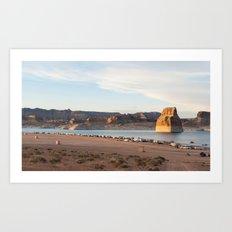 Lake Powell Art Print