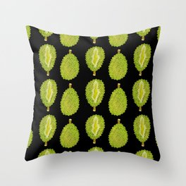 strange fruits (durian) Throw Pillow