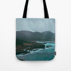 Big Sur Rocky Shore Tote Bag