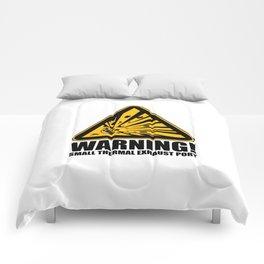 Obvious Explosion Hazard Comforters