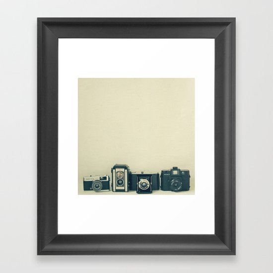 Camera Collection Framed Art Print